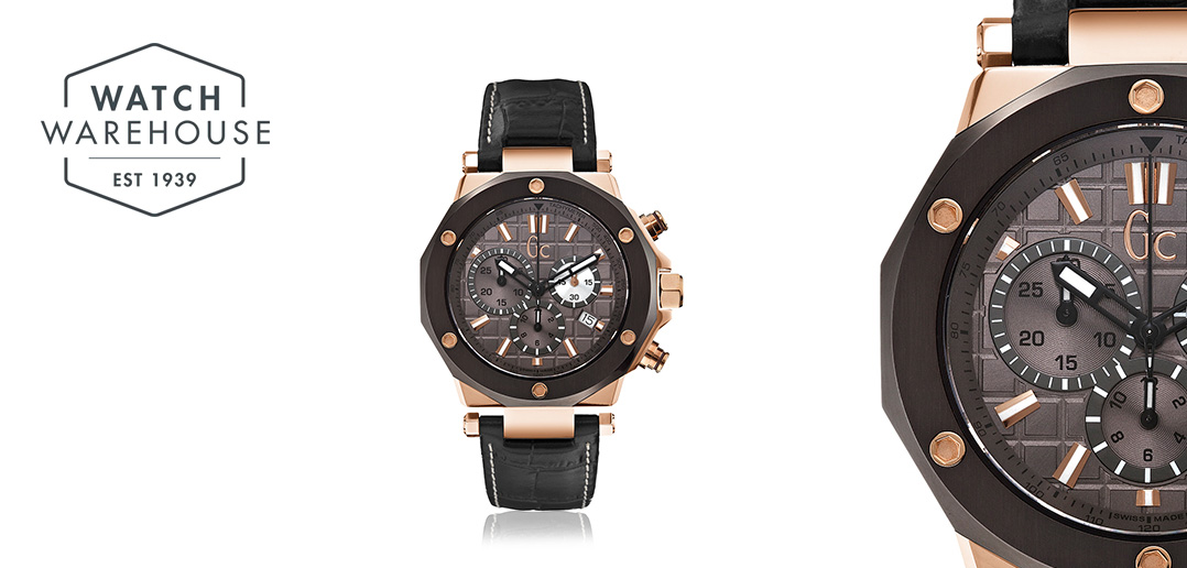 Mens GC-3 Sports Watch Guess