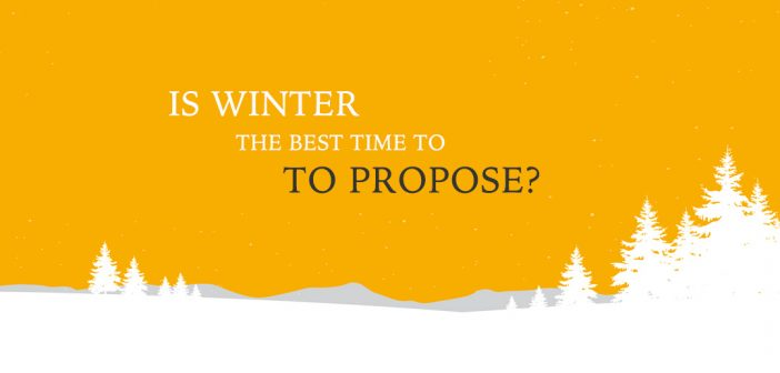 Wait until winter to propose, research finds