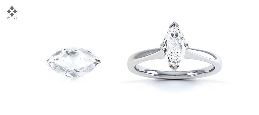 MARQUISE CUT DIAMOND SHAPE