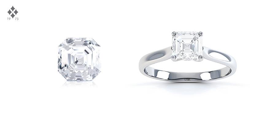 asccher cut diamond shape