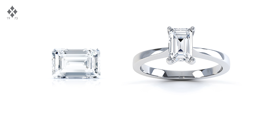 emerald cut diamond shape