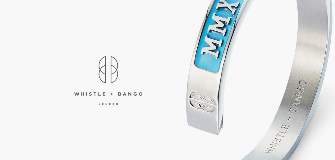 blue enamel cuff whistle + bango