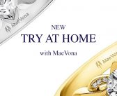 "MaeVona launch ""Try at Home"" Engagement Ring Service"