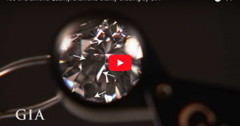Clarity of a diamond 4c's by GIA