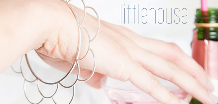 littlehouse flower bracelet bangle