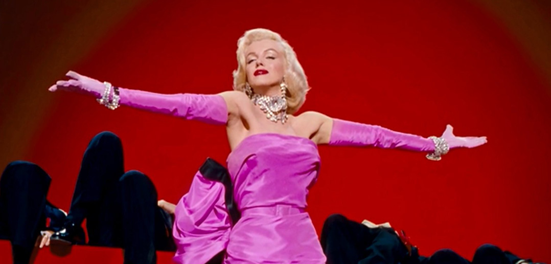 marilyn monroe gentlemen-prefer-blondes