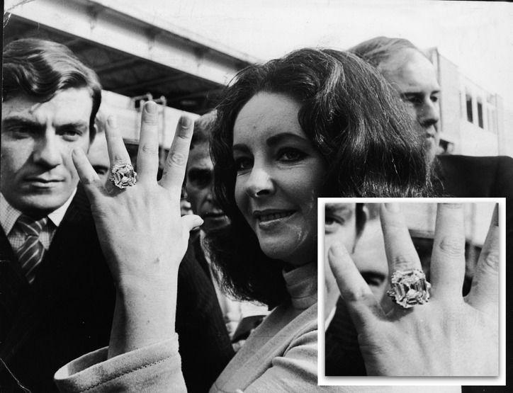Elizabeth Taylor 33.19carat Krupp Asscher cut diamond