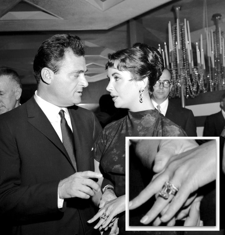 Elizabeth Taylor's 29.4 carat Emerald cut diamond