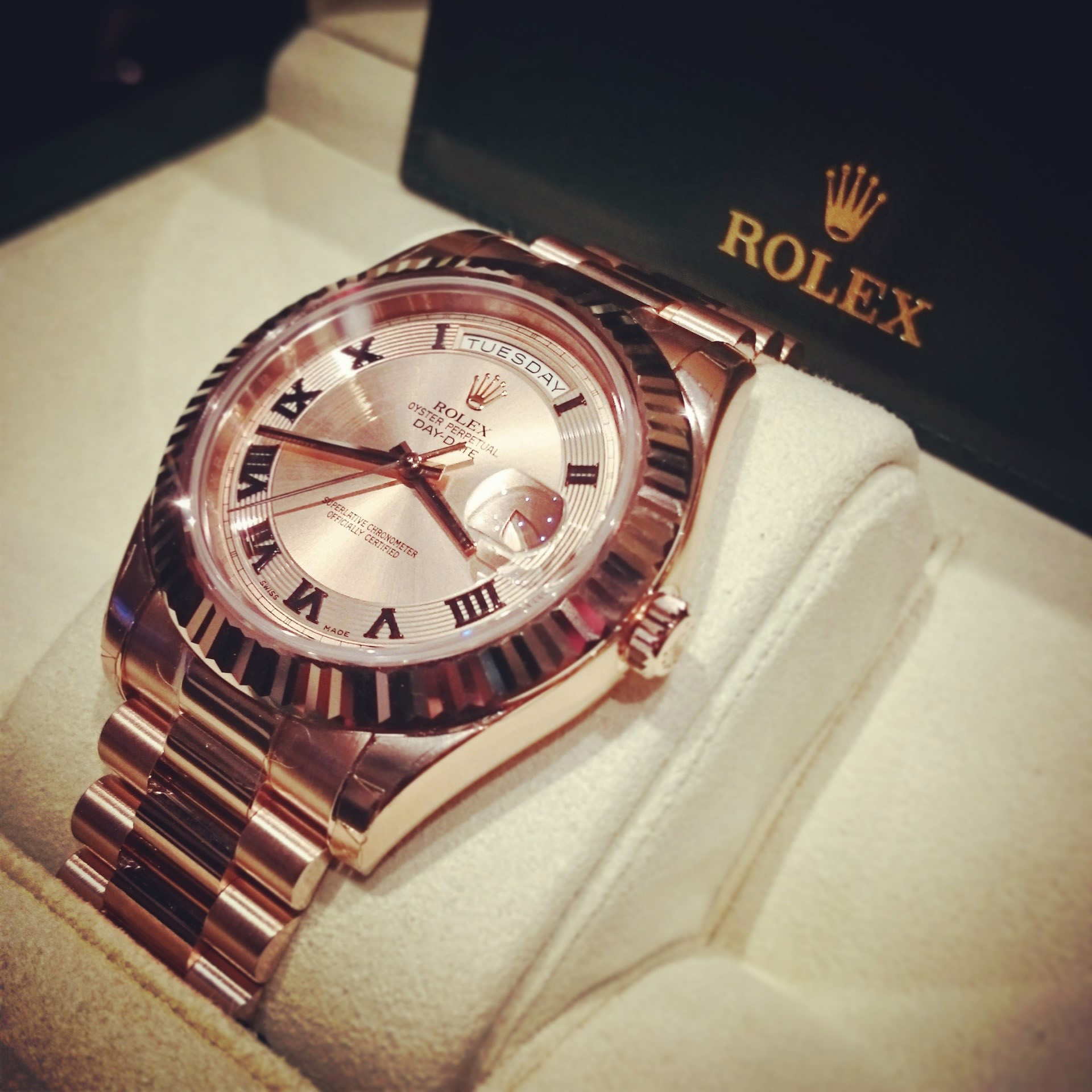Rolex Day date watch