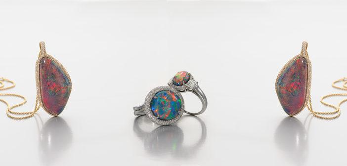 Jeffery Bilgore new opal collection